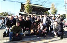 安全祈願の実施:2018年1月6日(土) 「川崎大師平間寺」