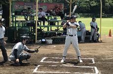 野球部が管工業健康保険組合軟式野球大会に参加(6月24日)